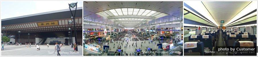 Suzhou to Shanghai Train, China Train