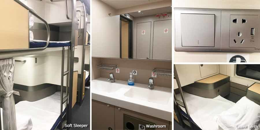 soft sleep in highspeed train
