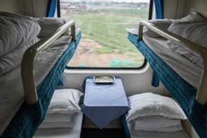 soft sleeper on a China train