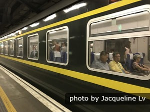 Hong Kong to Guangzhou through train