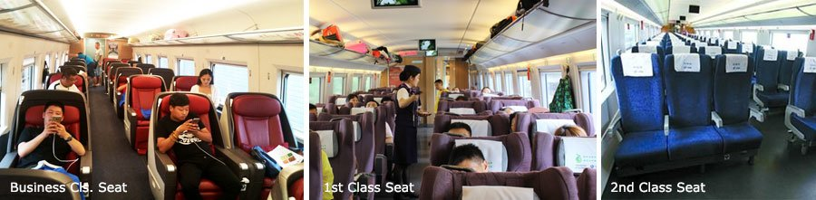 seats on high-speed train, China bullet train