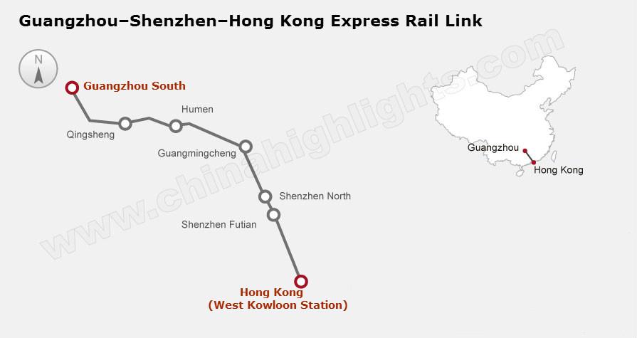 Guangzhou–Shenzhen–Hong Kong Express Rail Link