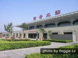 Xian Northway Station, Xian High-Speed Train