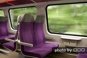 high-speed train carriage