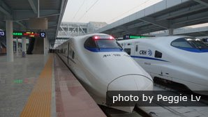 Chongqing - Guiyang high-speed train, China bullet train