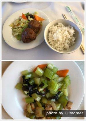 Food on international train